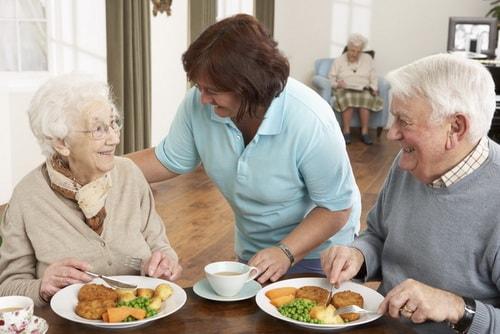 питание в пансионатах для инвалидов