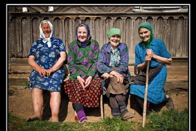 Прикольные картинки про бабушек