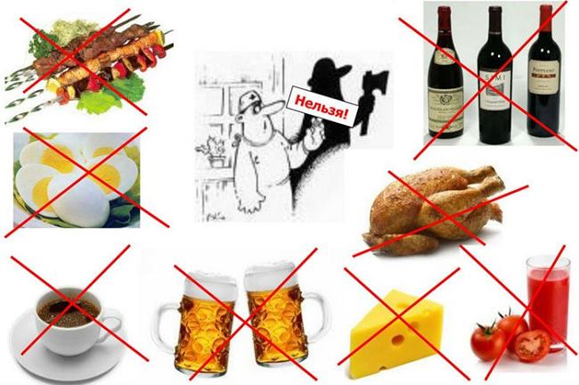 Запрещенные продукты: Что нельзя кушать после инсульта