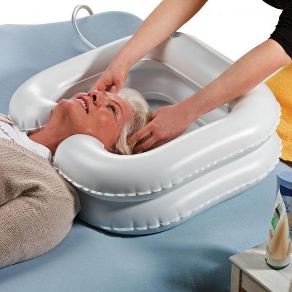 сухое мытье головы для лежачих больных