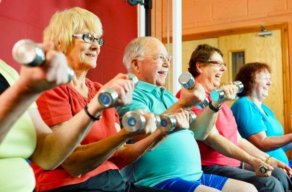 суставная гимнастика для пожилых