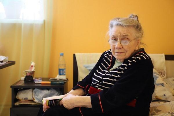 Тренировка памяти у бабушки