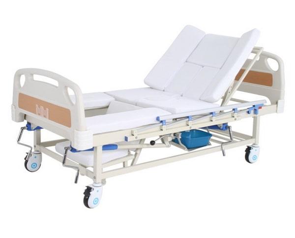 Медицинская кровать с туалетом