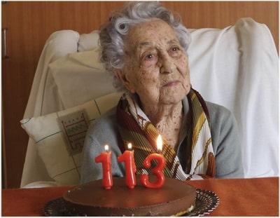в 113 лет победида коронавирус