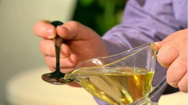 Полоскание оливковым маслом