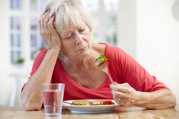 Резкое снижение аппетита