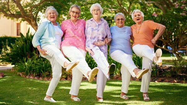Танцы на пенсии